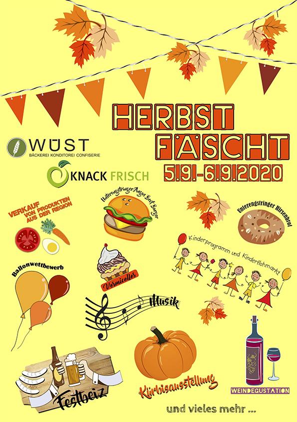Verschiebedatum - Kinderflohmi und Kinderprogramm am Herbstfest von Knackfrisch und der Bäckerei Wüst @ Knack Frisch und Bäckerei Wüst