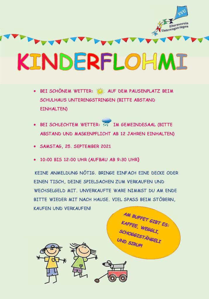 Kinderflohmi @ Pausenplatz, Schulhaus Büel